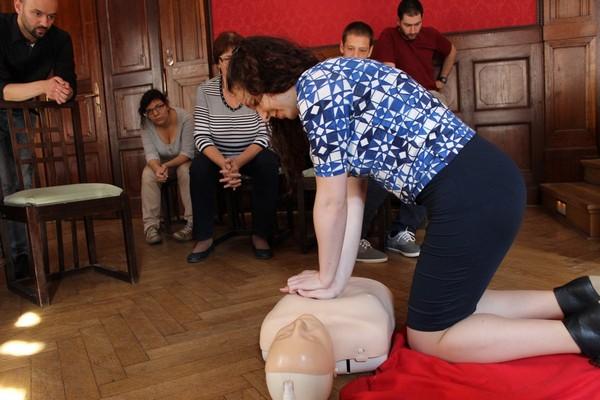 Školení první pomoci v Židovské obci v Praze – 11